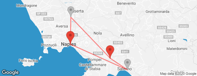 Popular indirect connections Naples → Nocera Inferiore